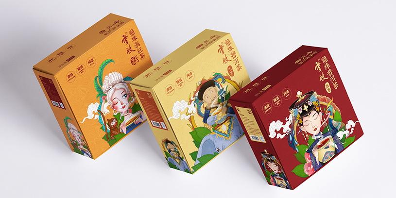 云牧茶叶品牌包装形象设计