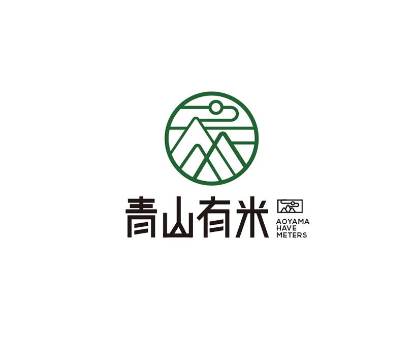 青山有米农产品VI形象设计