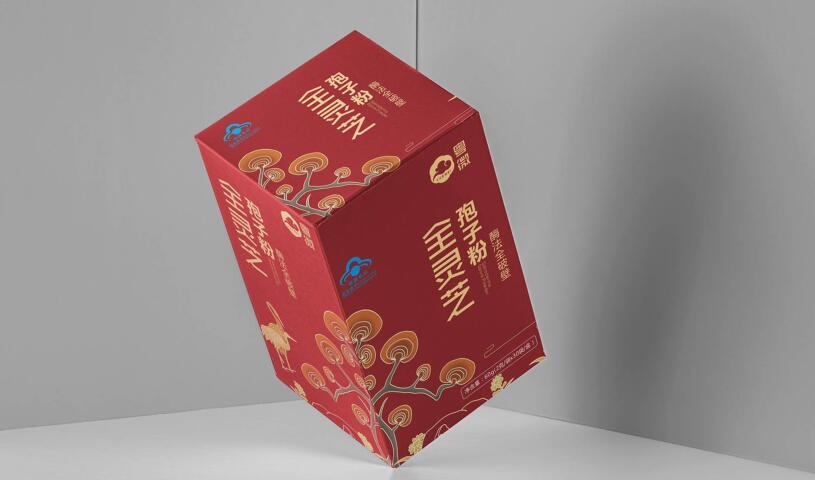 粤微保健品电商包装设计