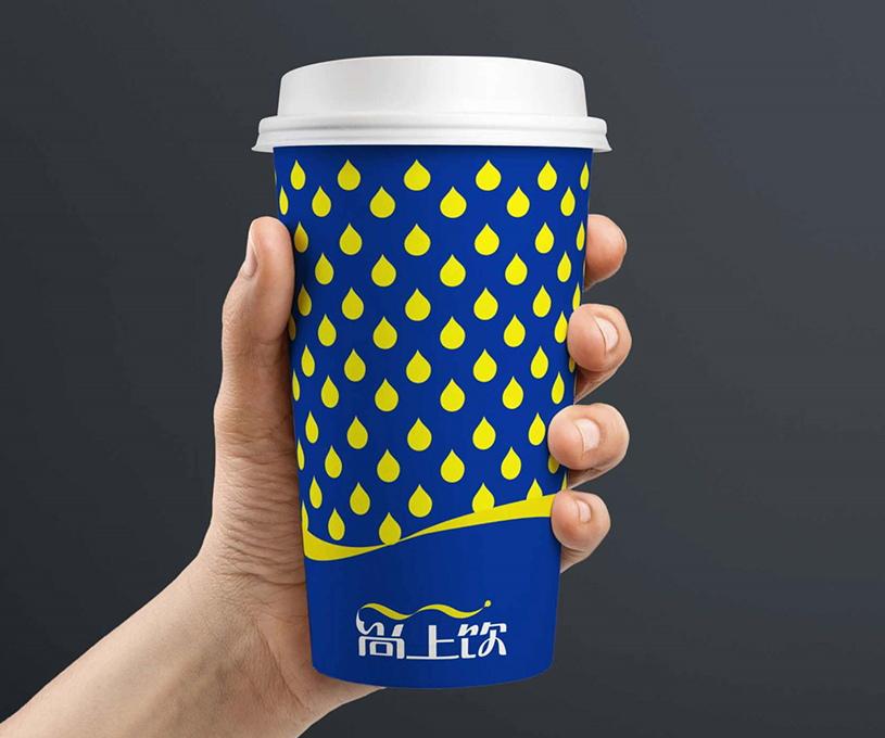 尚上饮纯净水品牌形象设计