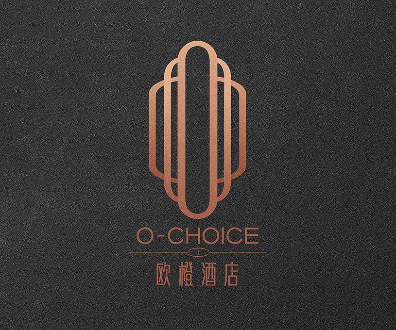 小李白|欧橙酒店品牌标志设计